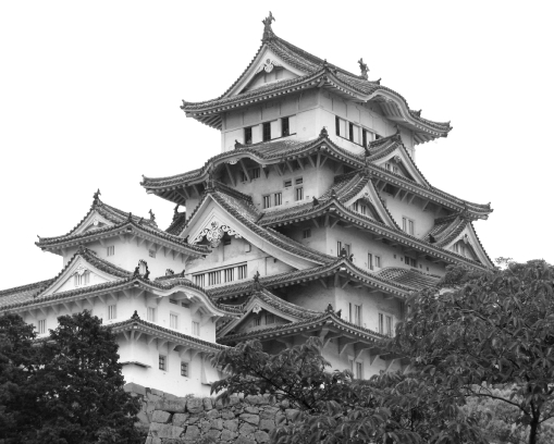 Himeji Castle.  Himeji.  2008.