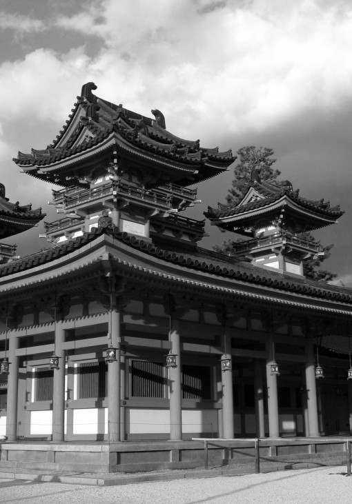 Heian Shrine.  Kyoto.  2007.