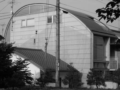 Ferro-concrete house.  Okazaki, Kyoto.  2008.