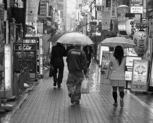 Ueno Street.  Tokyo.  2008.