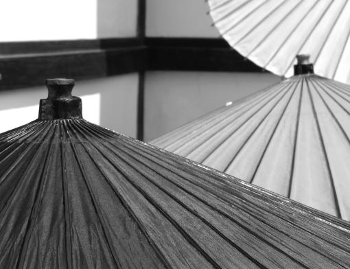 Umbrellas.  Kyoto.  2008.
