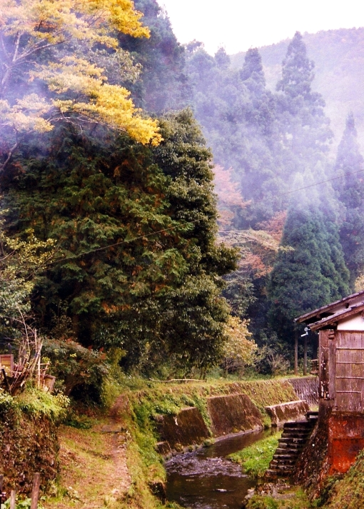 Kurama.  Just north of Kyoto.  October 2003.