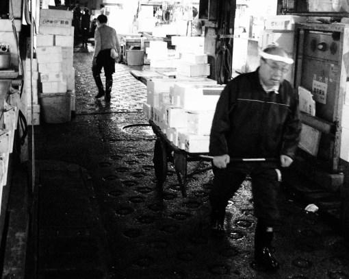 Tsukiji.  Nov 2009.